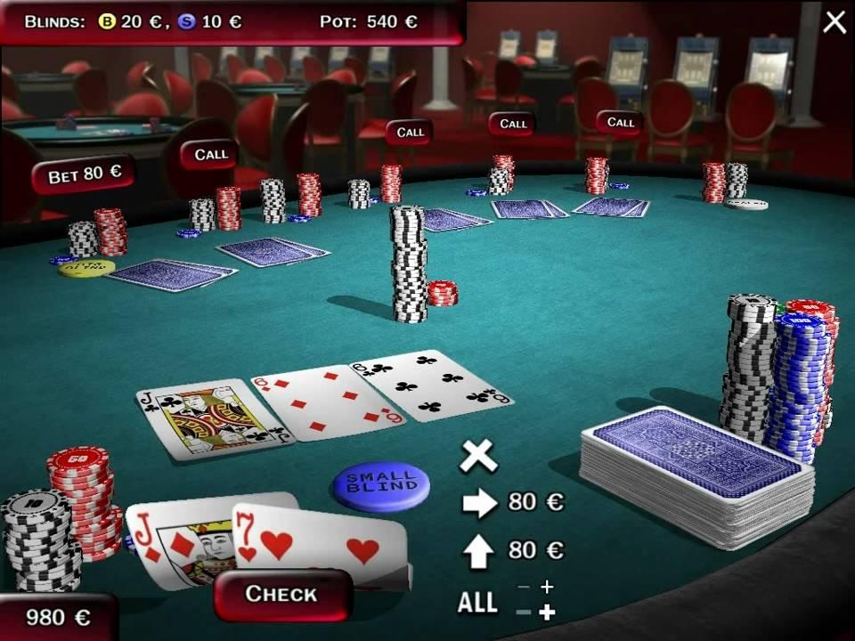 Texas holdem 3d poker online