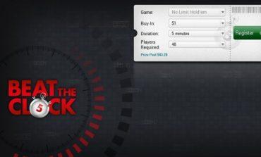 PokerStars проводит тестирование новых турниров Beat the Clock