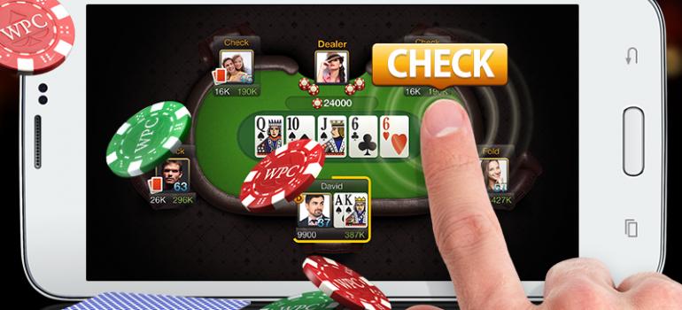 Чек в покере