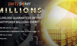 PartyPoker проведет смешанный турнир по покеру с гарантией в 5 миллионов фунтов