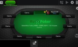 Где играть в покер на русском онлайн